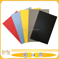 colorful PP fluted plastic sheets / pp hollow boards