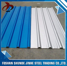 China foshan steel color steel metal roofing sheet sandwich panel for building material