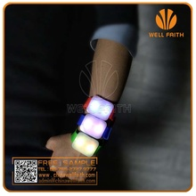 Concer souvenir LED brand wristband watch,LED silicone remote control braclets watch with multi function