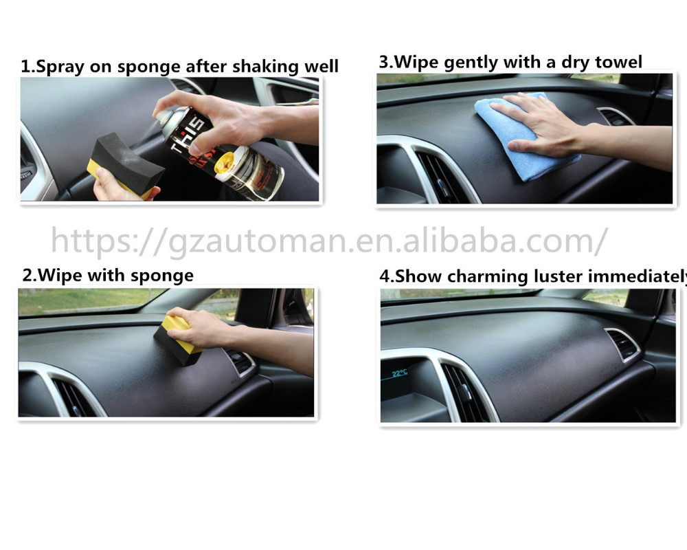 Car Dashboard Spray Wax , Car care Dashboard Cleaner