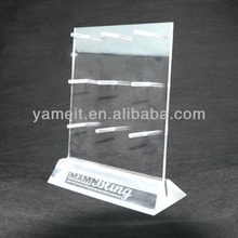 Clear Top Grade 3 Tier Acrylic Jewelery Display Stands