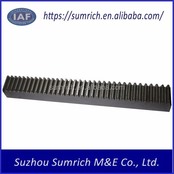 Customized OEM high precision cnc machining gear rack