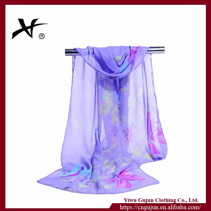 fantasy luxurious chiffon silk scarf for noble women sea beach comfortable shawl ladies pareo stole India scarves hijab