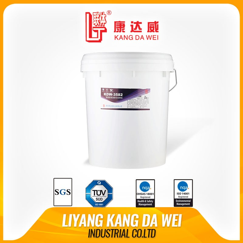 Two-component silicone removable adhesive adhesive silicone additional pouring compound