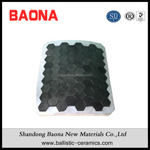 Silicon Carbide Ceramics Ballistic Hard Armor Panels Of Hexagonal Tiles