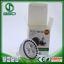 COB mr16 lighting Aluminum Lamp Body Material 100w hid spotlight wholesale