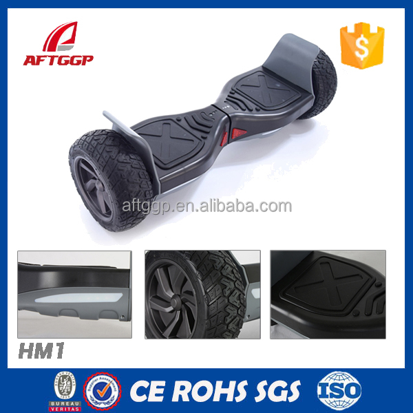 Two Wheel Custom Hoverboard 8.5 Inch Off Road Smart Balance Scooter With Bluetooth