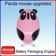 cartoon shape 2.4g wireless computer mouse promotion gift item