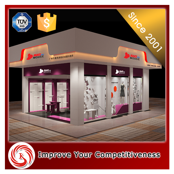 Nice looking ladies clothes shop design for garment display furniture
