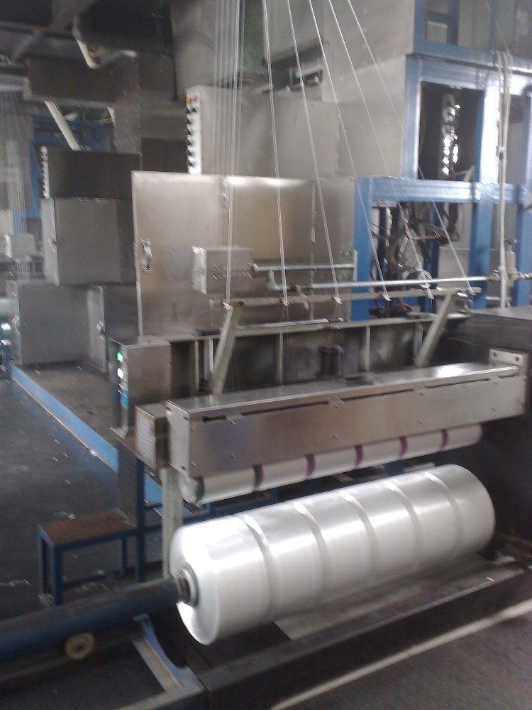 textile spinning machine used to produce pp yarn