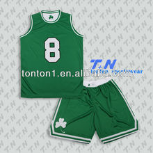 Digtal print sublimation custom design reversible mesh 100% polyester basketball uniforms/suits/shorts/jerseys