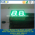 Green Color 2 Digits 7 Segment LED Display Nixie Display