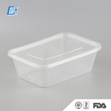 OEM Hot Selling Top Quality Disposable Plastic Food Container Box