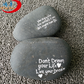 inspirational river stones wholesale saying stone
