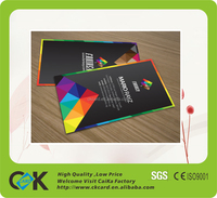Cr80 standard size Plastic business card name card with free samples