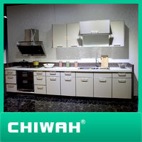 modern kitchen simple cupboard design for wholesale (hot sale)