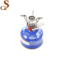 portable mini furnace head camping stoves outdoor gas furnace accessories