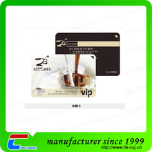 2016 new product high end preprinting smart rfid card