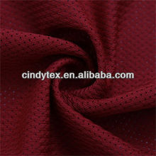 75d soft small round hole polyester knitting mesh fabric