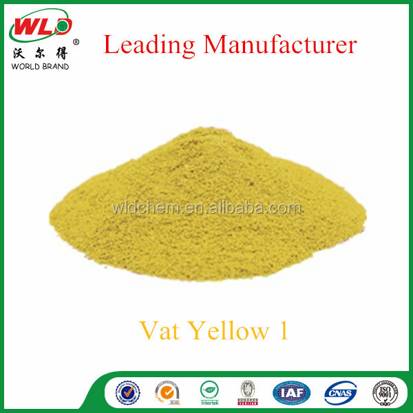 CAS NO 5809-16-7 C.I.Vat Yellow 1 Yellow G