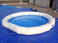 GMIF inflatable swimming pool toys, floating swimming pool on water park