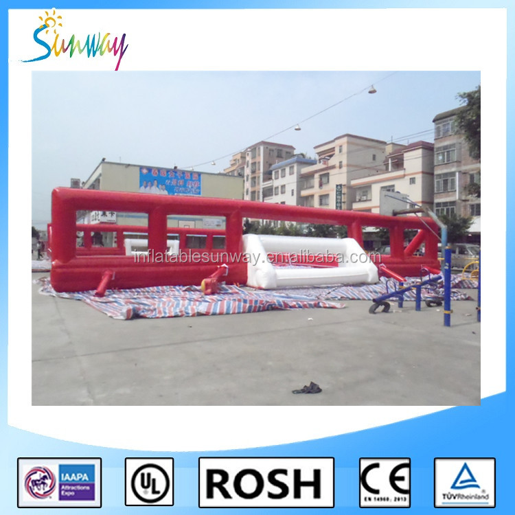 2016 SUNWAY Cheap Price Inflatable Soccer Field / Inflatable Football Arena / Inflatable Soccer Pitch for Sale