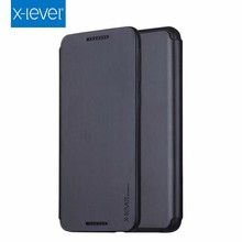 Xlevel Business Flip Kickstand Leather Mobile Phone Case for Leather Flip Cover for HTC Desire 828