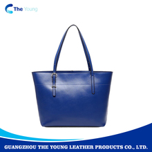 Wholesale factory price messenger genuine leather vintage Women tote bag