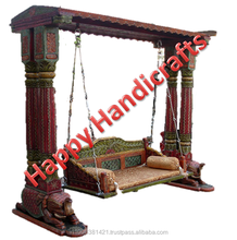 indian wooden jhula /swing/ indoor swing