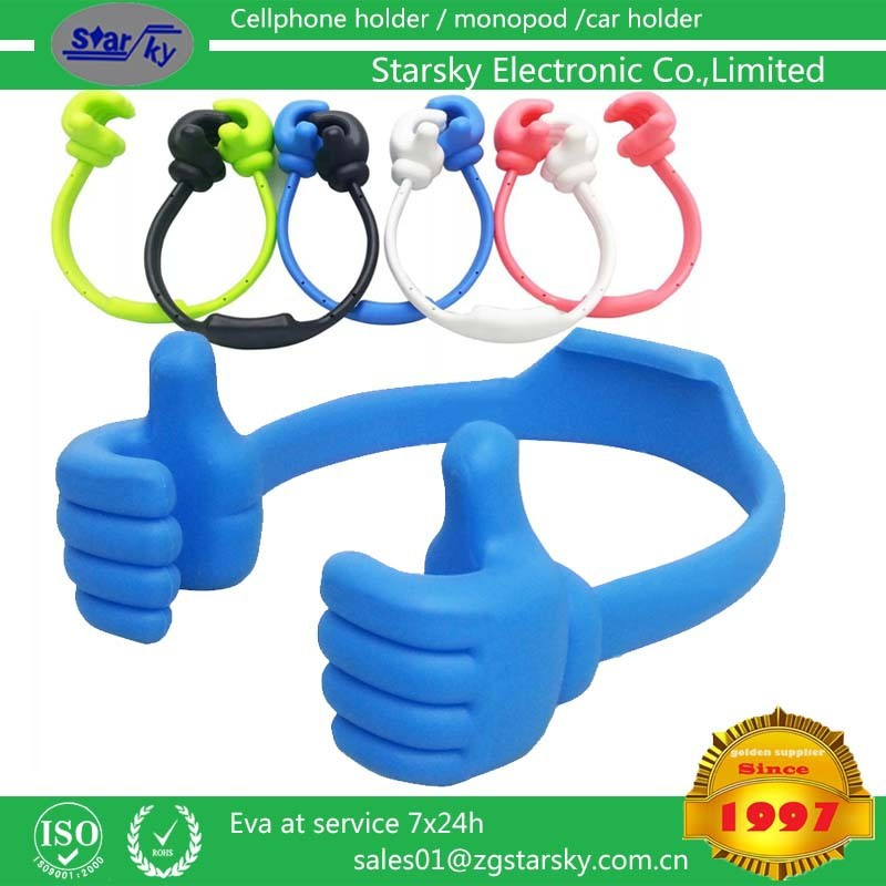 SK237# New arrival cute Thumbs-up Stand,stand holder for SmartPhone Desk tablet holder