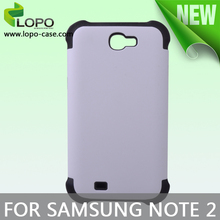3D sublimation 2in1 case for Samsung Galaxy Note2