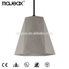 Suspended Thai Industrial Cement Ceiling Lamp Lighting