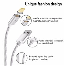 2017 Magnet Charger Cable for Android Cell Phone Micro USB Data Cable for Samsung USB 3.0 3.1 for iPhone Magnetic Charging Cable