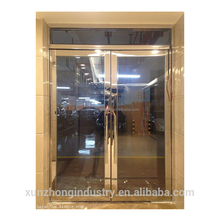 Interior office stainless steel frame with unbreakable fire rated glass door