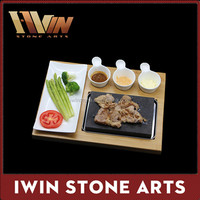 BBQ Accessories Lava Stone Cooking/Stone Grill Plate/Grill Plate