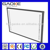 interactive whiteboard for school teaching/multi-touch/protable electronic smart board/optical whiteboard