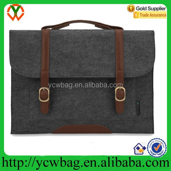 Felt business laptop bag briefcase cheap second hand laptop