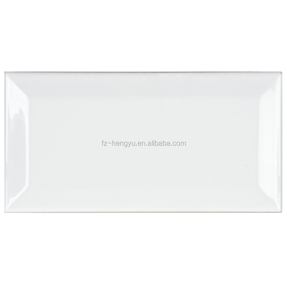 Modern design 3''x6'' Glossy white subway tile