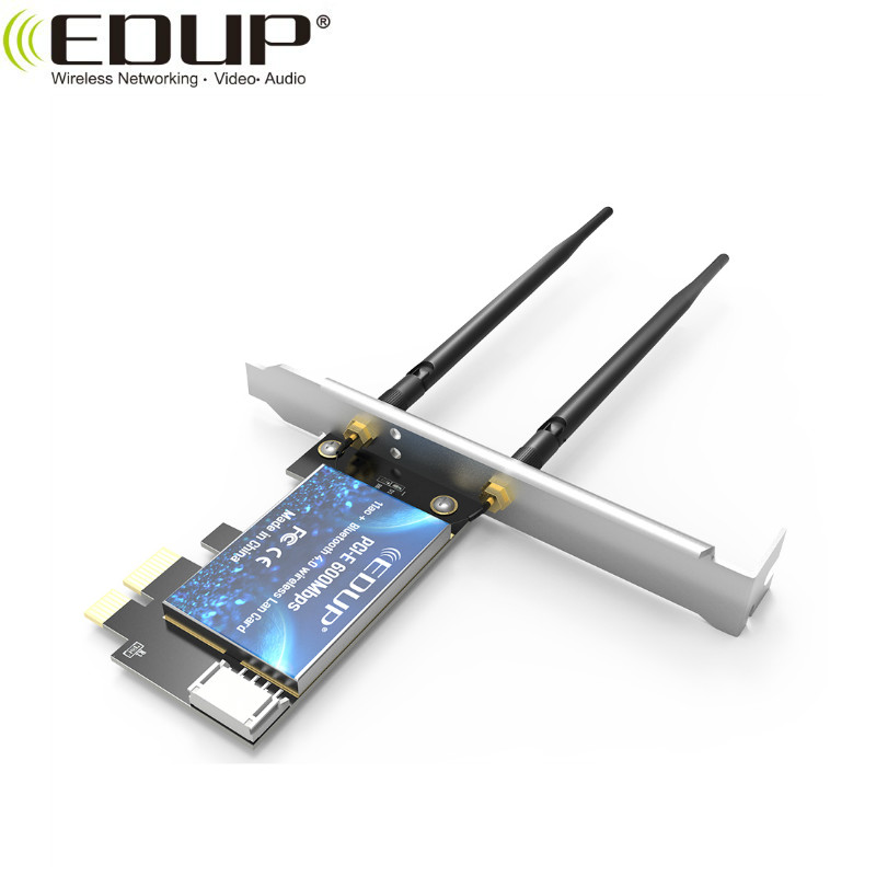 IEEE 802.11a/b/g/n/ac Dual Band Blue-tooth WiFi  PCI Express adapter With Bluetooth 4.0/3.0+HS