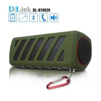 Portable NFC Waterproof Super Bass Resonance Bluetooth Wireless Speaker With Power Bank