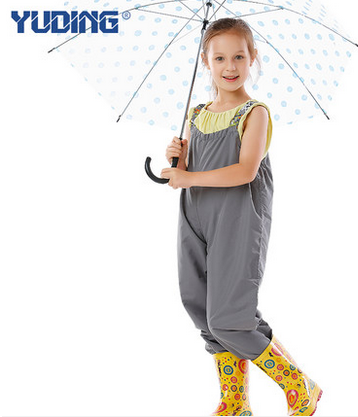 Cute One-Piece Unisex Thicken Jumpsuit Raincoat Funny Kids Ponchos