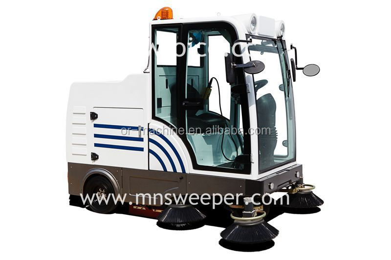 Hot sale CE approved road sweeper E800LD industrial vacuum parking lot sweepers