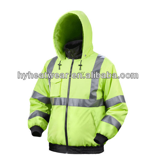 battery heated hi vis workwear thermal battery heated overalls