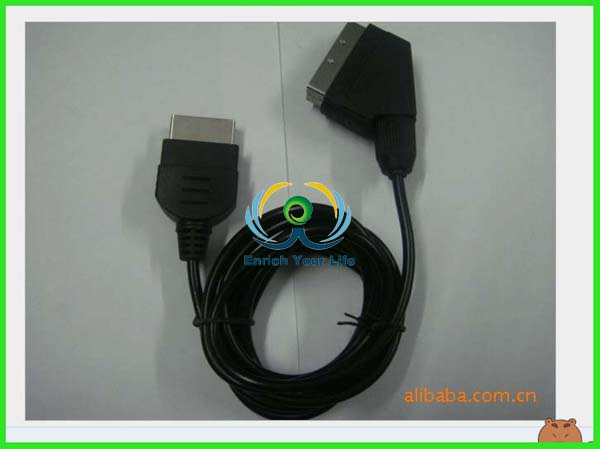 Microsoft Rgb Scart Cable for Xbox 360