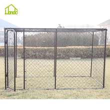 Best seller factory outdoor metal dog kennel large dog cage welded wire mesh dog kennel
