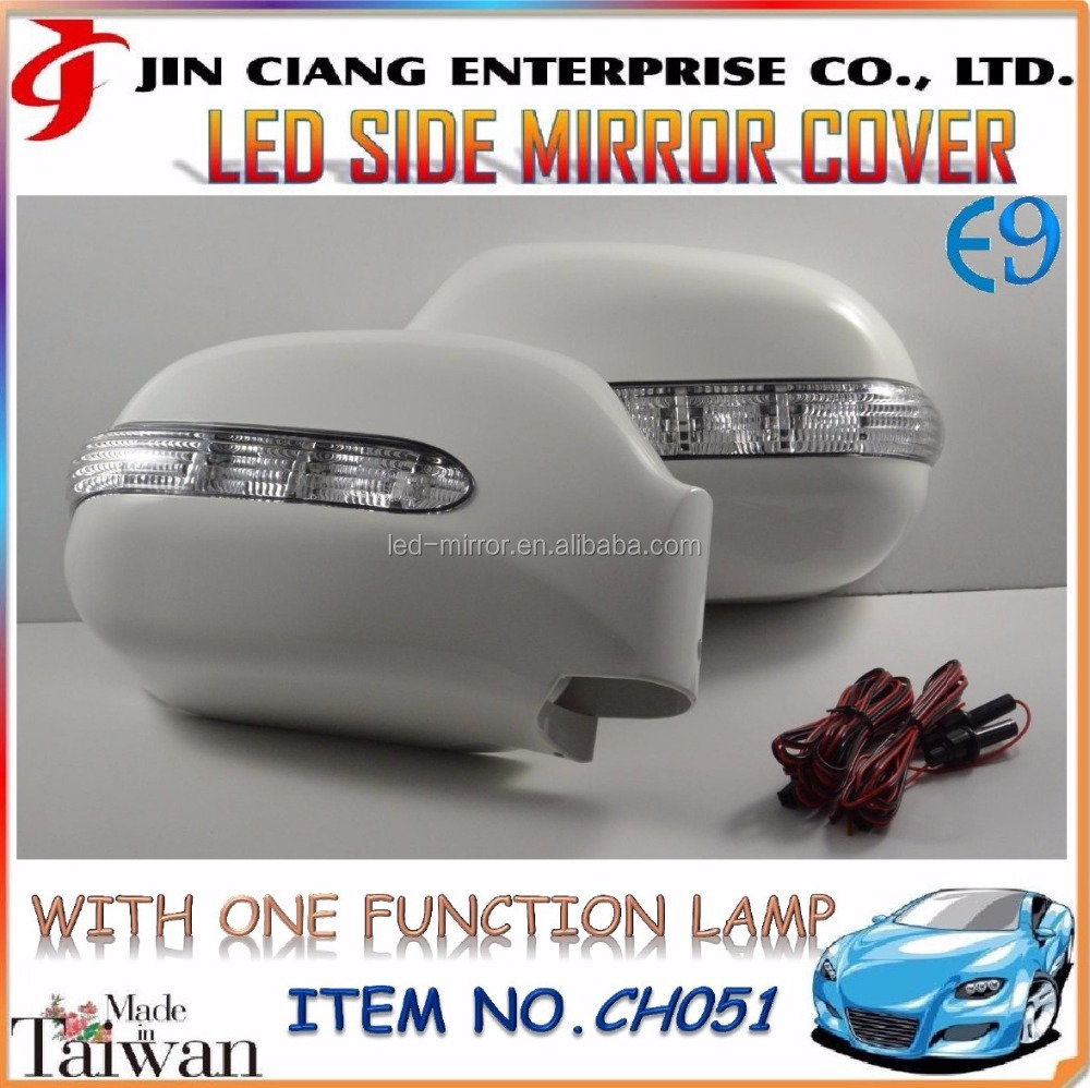Hot Deals Body Kit FOR TOYOTA HIACE LED CAR SIDE MIRROR COVER