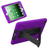 Brandnew rugged robot stand case for iPad mini 4 dual layers back skin