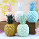 Wholesale Creative Resin Fruit Colorful Pineapple Yellow White Green Ananas in Resin Crafts for Home Decoration