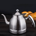 LTK206S High Quality Sanding Water Kettle Stainless Steel Octagonal Shape Tea Pot