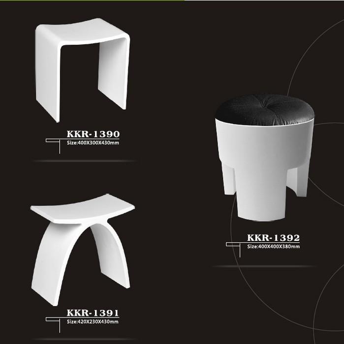kkr baignoire tabouret de douche moderne tabouret de douche artificielle pierre tabouret. Black Bedroom Furniture Sets. Home Design Ideas